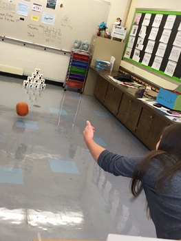 Pumpkin Bowling STEM Activity