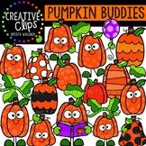 Pumpkin Buddies: Fall Clipart {Creative Clips Clipart}