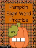 Pumpkin-Build a Sight Word