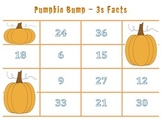 Pumpkin Bump Games - Times Tables - 3 Facts