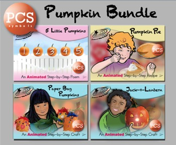 Pumpkin Bundle - Animated Step-by-Steps PCS Symbols