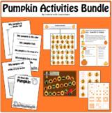 Pumpkin Activities Bundle: Investigation Book, Numerals & Attributes, Newsletter