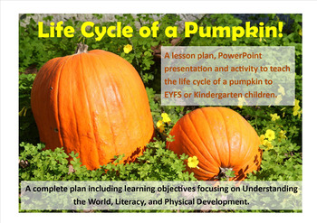Pumpkin Bundle Lesson Plans and Resources Pack