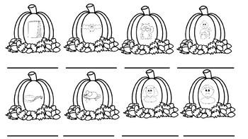 Pumpkin CVC Writing
