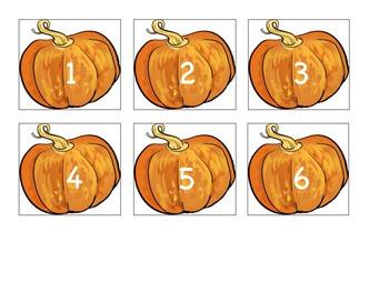 Pumpkin Calendar Cards