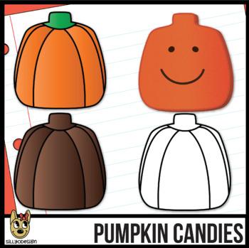 Pumpkin Candy Clip Art