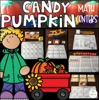 Pumpkin Candy Math Centers