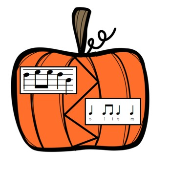 Pumpkin Carvers: A Stick to Staff  Notation Activity with So-Mi-La