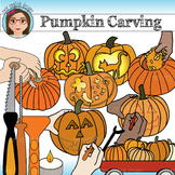 Pumpkin Carving Clip Art