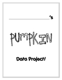 Pumpkin Carving Data and Graphing Project