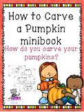 Pumpkin Carving Mini Book