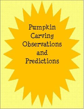 Pumpkin Carving Observations and Predictions