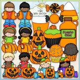 Pumpkin Carving Party Clip Art - Halloween Clip Art - CU C