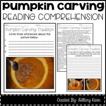 Leveled Text W: Pumpkin Carving