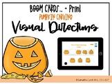 Pumpkin Carving Visual Directions