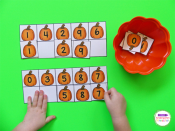 Pumpkin Centers and Activities for Pre-K/Kindergarten