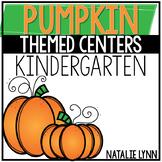 Pumpkin Centers for Kindergarten