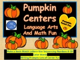 Pumpkin Centers - Language Arts and Math