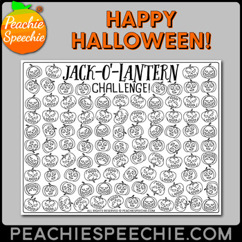 100 Trials Pumpkin and Jack-o-Lantern Challenges