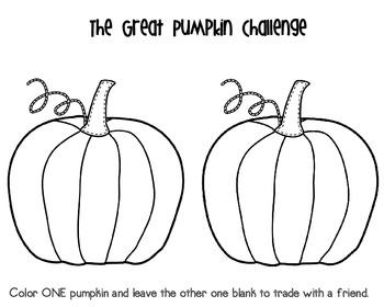 Pumpkin Challenge {Following Directions}