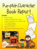 Pumpkin Character Book Report