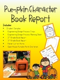 Pumpkin Character Book Report