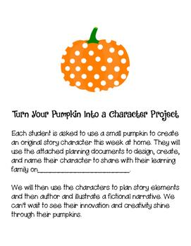 Pumpkin Character Design Project