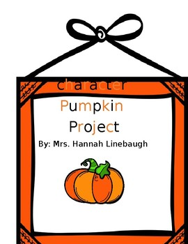 Pumpkin Character Project