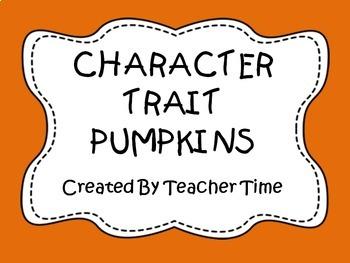 Pumpkin Character Traits