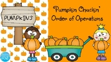 Pumpkin Chuckin' (Order of Operations)