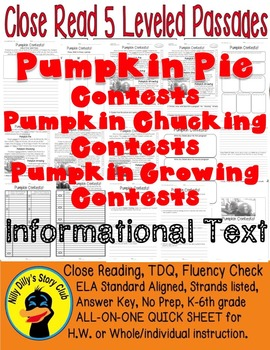 Pumpkin Chucking, Pie, Growing Contests Information Text 5