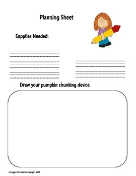 Pumpkin Chunking STEM