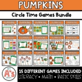 Pumpkin Circle Time Activities