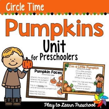 Pumpkin Circle Time Unit