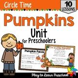 Pumpkin Preschool Unit