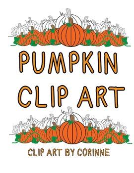 Clip Art - Pumpkin Patch