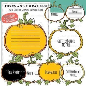Pumpkin Clip Art Bundle