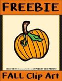 Pumpkin Clip Art FREEBIE
