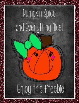 Pumpkin Clip Art FREEBIE {Confetti and Creativity}