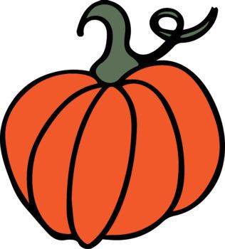 FREEBIE - Pumpkin Clip Art
