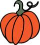 Pumpkin Clip Art - Freebie