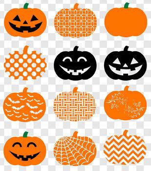 Pumpkin Clip Art - Halloween Pumpkins