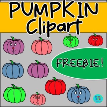 Pumpkin Clipart - Commercial Use