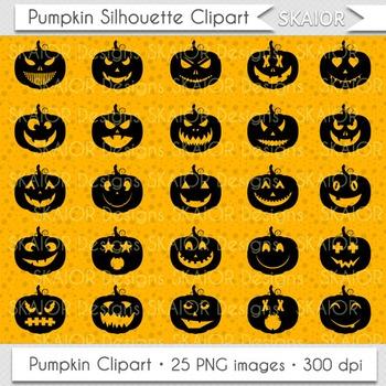 Pumpkin Clipart Halloween Clip Art Jack O Lantern Pumpkin Face Icons