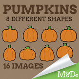 Pumpkin Clipart - Simple Graphics