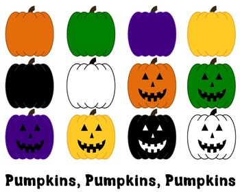 Pumpkin Clipart for Personal and Commercial Use