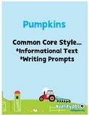 Pumpkin Close Reading PRINT & GO!