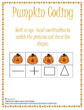 Pumpkin Coding Packet