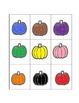 Pumpkin Color Bingo