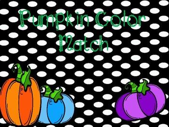 Pumpkin Color Match